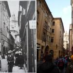 Melantrichova ulice (přelom 19 a 20.století a rok 2010)