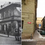 Roh ulice Rybné a Benediktské (1905-2010)